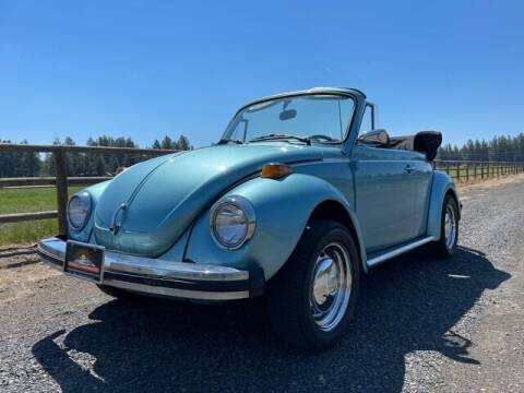 1979 Volkswagen Beetle Convertible for sale at Parnell Autowerks in Bend OR