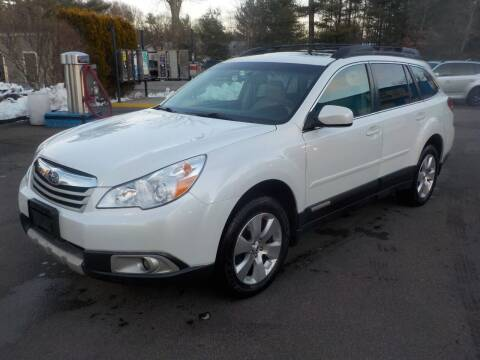 2011 Subaru Outback for sale at RTE 123 Village Auto Sales Inc. in Attleboro MA