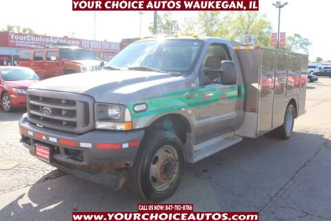 2004 Ford F-450 Super Duty for sale at Your Choice Autos - Waukegan in Waukegan IL