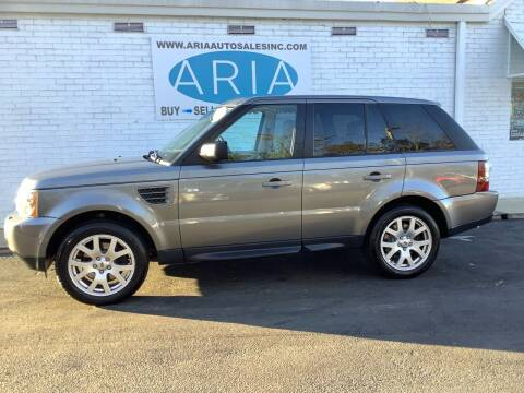 2009 Land Rover Range Rover Sport for sale at ARIA  AUTO  SALES in Raleigh NC