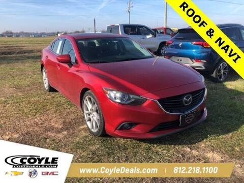 2014 Mazda MAZDA6 for sale at COYLE GM - COYLE NISSAN - Coyle Nissan in Clarksville IN