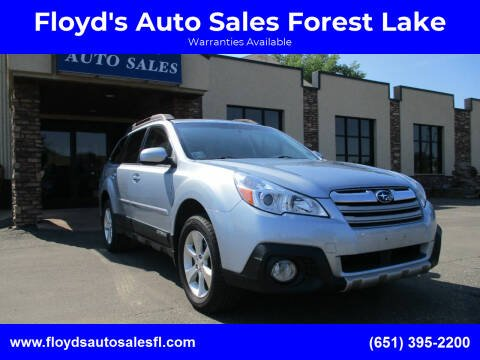 2014 Subaru Outback for sale at Floyd's Auto Sales Forest Lake in Forest Lake MN