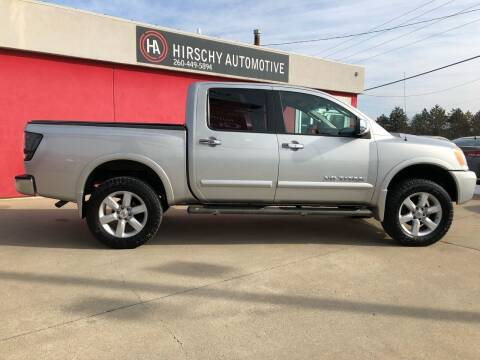 2008 Nissan Titan for sale at Hirschy Automotive in Fort Wayne IN
