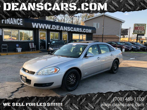 2006 Chevrolet Impala for sale at DEANSCARS.COM in Bridgeview IL