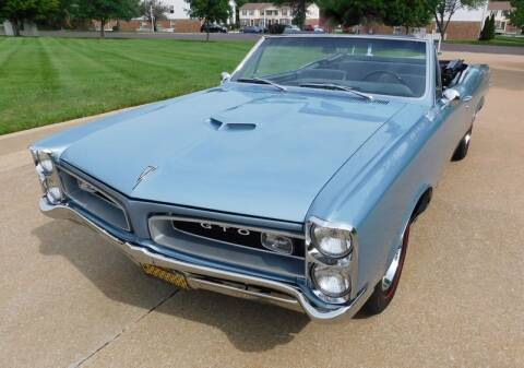 1966 Pontiac GTO for sale at WEST PORT AUTO CENTER INC in Fenton MO