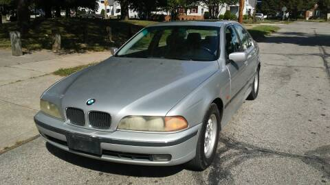 2000 BMW 5 Series for sale at USA AUTO WHOLESALE LLC in Cleveland OH