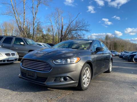 2016 Ford Fusion for sale at Royal Crest Motors in Haverhill MA