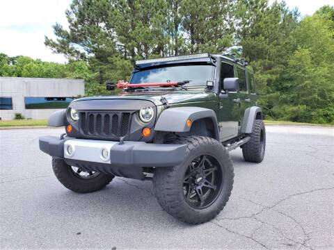 2008 Jeep Wrangler Unlimited for sale at Top Rider Motorsports in Marietta GA