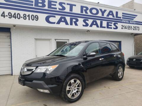 2007 Acura MDX for sale at Best Royal Car Sales in Dallas TX