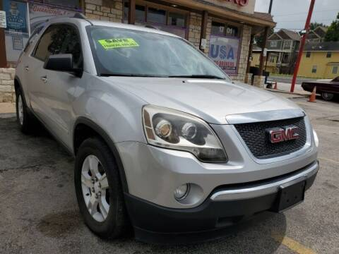 2012 GMC Acadia for sale at USA Auto Brokers in Houston TX