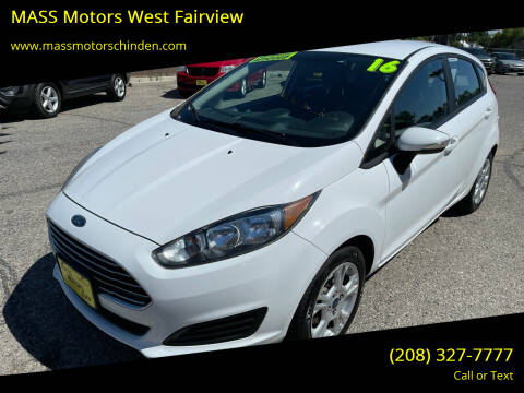 2016 Ford Fiesta for sale at M.A.S.S. Motors - West Fairview in Boise ID