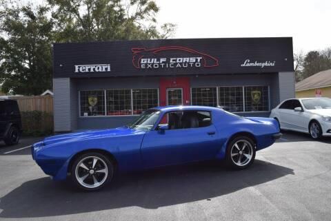 1973 Pontiac Firebird for sale at Gulf Coast Exotic Auto in Biloxi MS