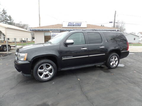 2011 Chevrolet Suburban for sale at DeLong Auto Group in Tipton IN