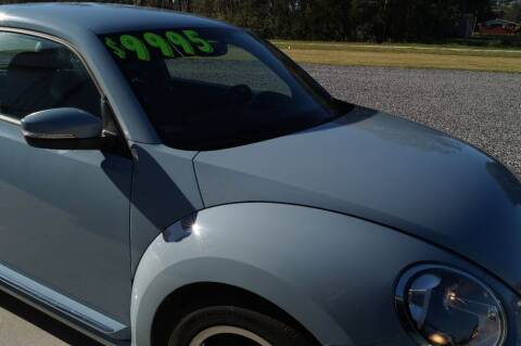 2013 Volkswagen Beetle for sale at Deaux Enterprises, LLC. in Saint Martinville LA