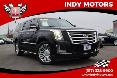 2016 Cadillac Escalade ESV for sale at Indy Motors Inc in Indianapolis IN