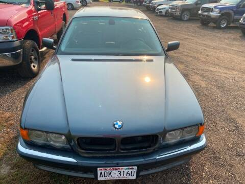 2001 BMW 7 Series for sale at Apple Auto in La Crescent MN