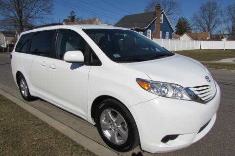 2015 Toyota Sienna for sale at First Choice Automobile in Uniondale NY