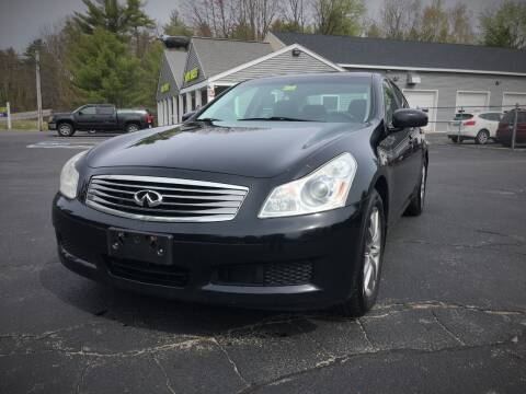 2008 Infiniti G35 for sale at 207 Motors in Gorham ME