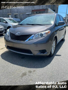 2011 Toyota Sienna for sale at Affordable Auto Sales of PJ, LLC in Port Jervis NY