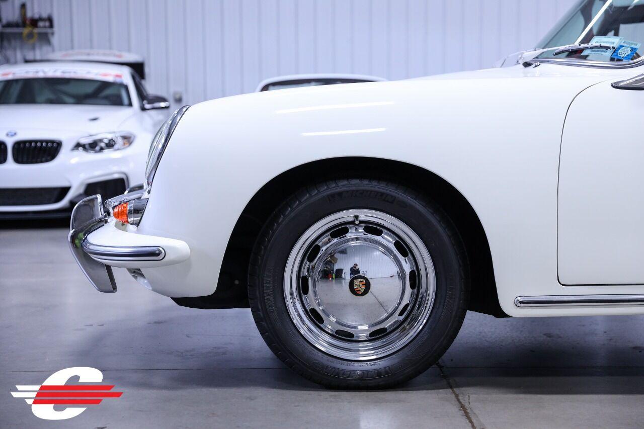 Cantech automotive: 1965 Porsche 356 F4 1.6L Convertible