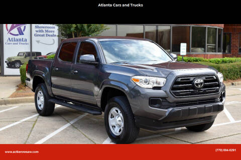 2019 Toyota Tacoma for sale at Atlanta Cars and Trucks in Kennesaw GA
