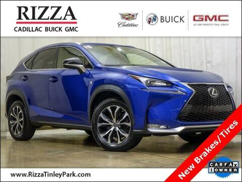 2015 Lexus NX 200t for sale at Rizza Buick GMC Cadillac in Tinley Park IL