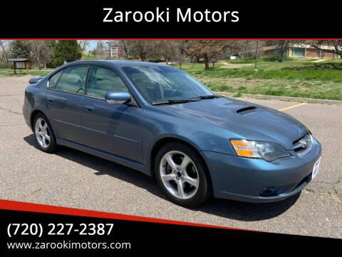 2005 Subaru Legacy for sale at Zarooki Motors in Englewood CO