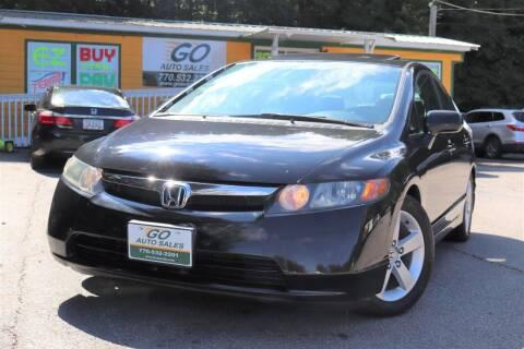 2008 Honda Civic for sale at Go Auto Sales in Gainesville GA