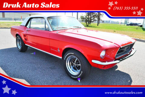 1967 Ford Mustang for sale at Druk Auto Sales in Ramsey MN