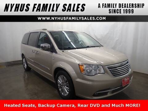 2014 Chrysler Town and Country for sale at Nyhus Family Sales in Perham MN