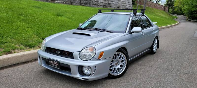 2002 Subaru Impreza for sale at ENVY MOTORS LLC in Paterson NJ