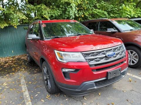 2018 Ford Explorer for sale at AW Auto & Truck Wholesalers  Inc. in Hasbrouck Heights NJ