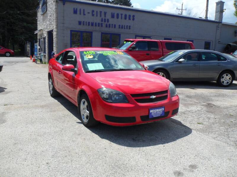 2007 Chevrolet Cobalt for sale at Weigman's Auto Sales in Milwaukee WI