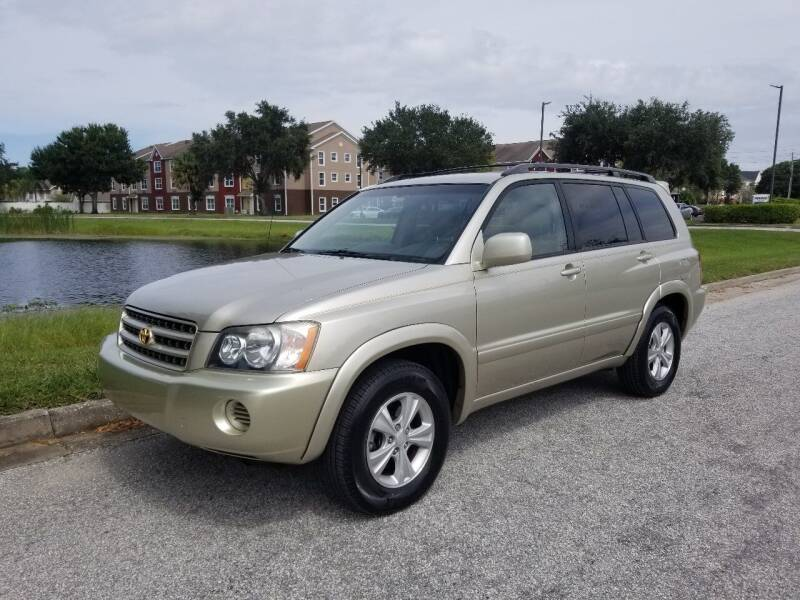 2001 Toyota Highlander for sale at Street Auto Sales in Clearwater FL