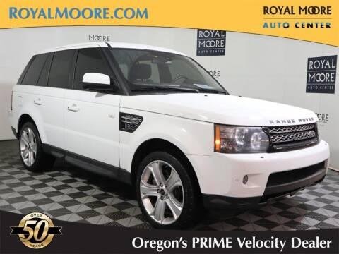 2012 Land Rover Range Rover Sport for sale at Royal Moore Custom Finance in Hillsboro OR