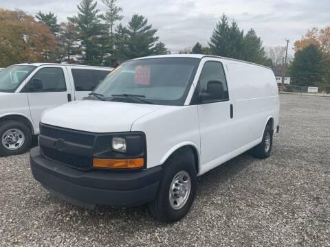 2016 Chevrolet Express Cargo for sale at Leonard Enterprise Used Cars in Orion MI