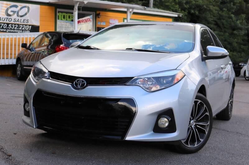 2014 Toyota Corolla for sale at Go Auto Sales in Gainesville GA