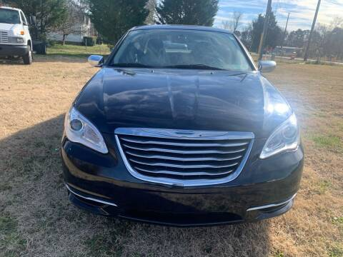 2014 Chrysler 200 for sale at Samet Performance in Louisburg NC