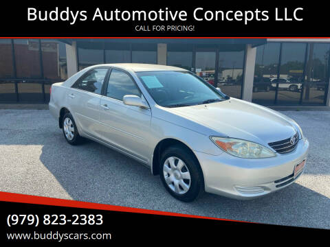 2004 Toyota Camry for sale at Buddys Automotive Concepts LLC in Bryan TX