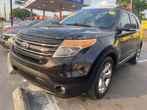 2014 Ford Explorer for sale at LATINOS MOTOR OF ORLANDO in Orlando FL