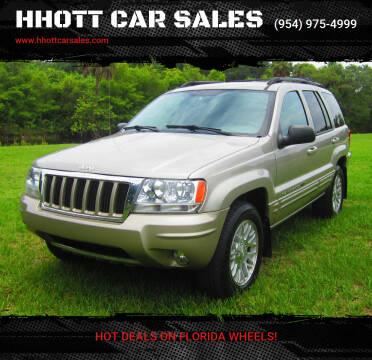 2004 Jeep Grand Cherokee for sale at HHOTT CAR SALES in Deerfield Beach FL