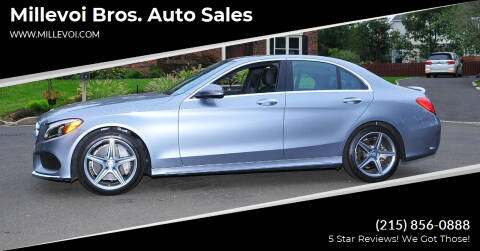 2016 Mercedes-Benz C-Class for sale at Millevoi Bros. Auto Sales in Philadelphia PA