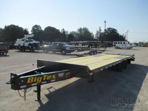 2022 Big Tex Equipment Deckover 22PH-25BK+5 for sale at Rondo Truck & Trailer in Sycamore IL