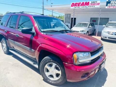 2005 Chevrolet TrailBlazer for sale at Dream Motors in Sacramento CA