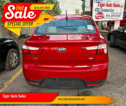 2014 Kia Rio for sale at Tiger Auto Sales in Columbus OH