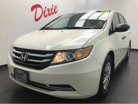 2016 Honda Odyssey for sale at Dixie Motors in Fairfield OH