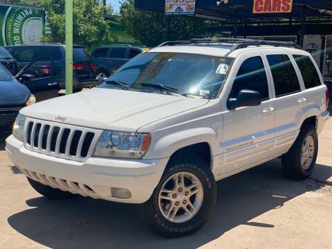 1999 Jeep Grand Cherokee for sale at Cash Car Outlet in Mckinney TX