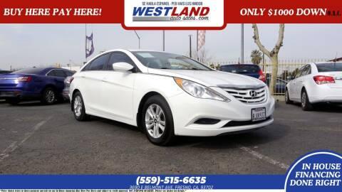 2012 Hyundai Sonata for sale at Westland Auto Sales on 7th in Fresno CA