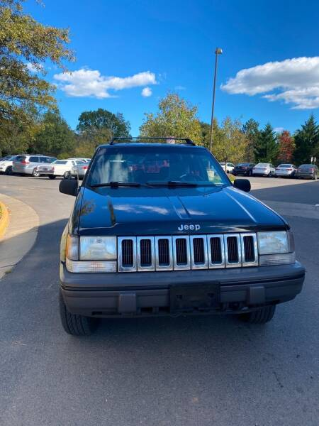 1995 Jeep Grand Cherokee for sale at Super Bee Auto in Chantilly VA