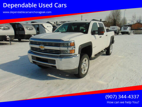 2017 Chevrolet Silverado 2500HD for sale at Dependable Used Cars in Anchorage AK